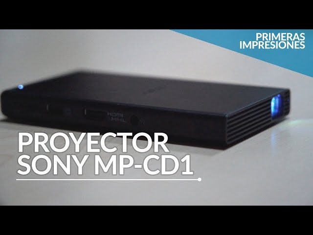 120 pulgadas de pura luz, así es el proyector de Sony que cabe en tu mano