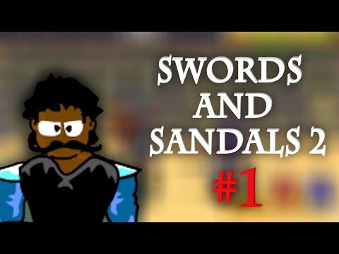 Český GamePlay   Online Hry - Swords And Sandals 2   Part 1   Nový Rod
