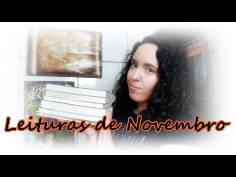 Leituras de Novembro (2017) | Um Livro e Só