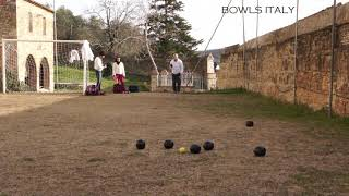 LAWN BOWLS IN ITALY