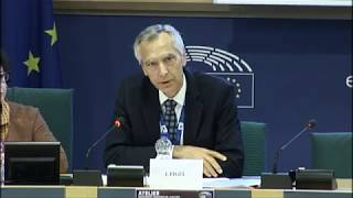 Ján Figeľ Speaking on Religious Freedom at the European Parliament on September 6, 2018.