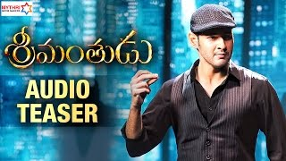 Srimanthudu - Audio Teaser Official