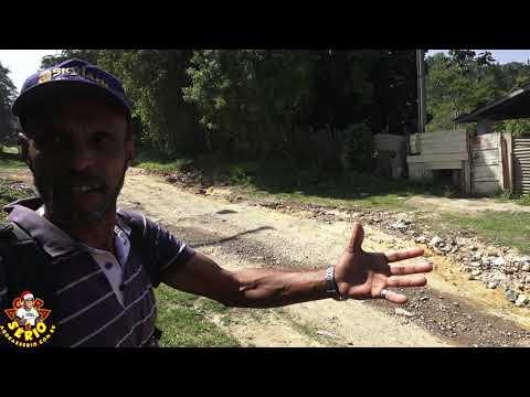 Moradores revoltados com a situação da Cachoeira Palomar e Estrada do Vargedo