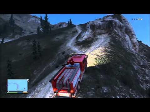 comment trouver un camion de pompier sur gta v