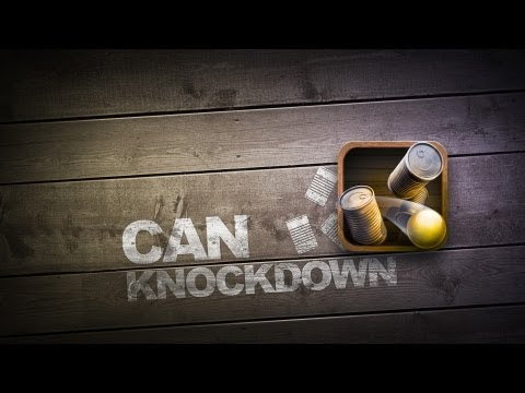 Video of Can Knockdown