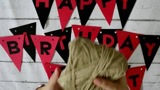 Birthday Decorations For Boys - 3 Easy DIY Decorations For Kids Party