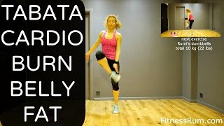RU57 20 Minute Tabata Cardio Workout Burn Belly Fat And Tone Total Body Exercises Level 2 by Rumiana Ilieva