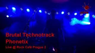 Video PHONETIX - live Rock Café, Praha, 2014