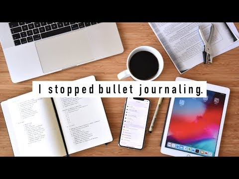 Why I Stopped Bullet Journaling for 6 Months.