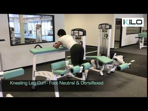 Kneeling Leg Curl - Foot Neutral & Dorsiflexed