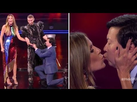 Heidi Klum and Ken Jeong Get ENGAGED On TV After NEARLY DYING Together! | America's Got Talent 2018 (видео)