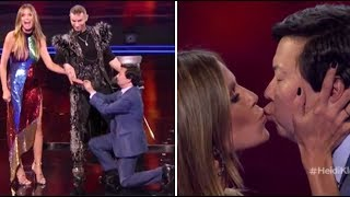 Hedi Klum & Ken Jeong Get ENGAGED On TV After NEARLY DYING Together! | America's Got Talent 2018 - dooclip.me