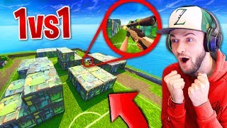 We built SHIPMENT and SNIPER 1v1'd in FORNITE!