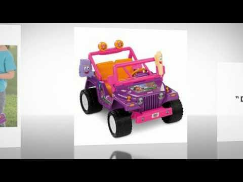 Power Wheels Dora the Explorer Jeep Wrangler Review 2018 | Hot Toys For Christmas 2018