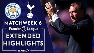 Leicester City v. Tottenham | PREMIER LEAGUE HIGHLIGHTS | 9/21/19 | NBC Sports
