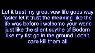 children of bodom triple corpse hammerblow lyrics