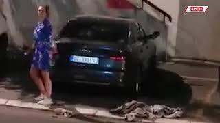 Ljupka Stević razbija automobile u vlasništvu pukovnika Simića