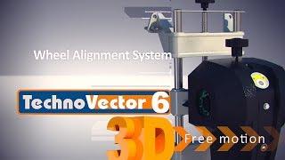 "3D стенд сход-развал для небольших помещений Techno Vector 6 Free Motion от компании ТОВ ""ДІАГНОСТІК-ЛАЙН"" - видео"