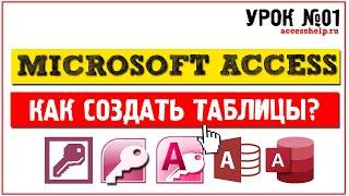 Как создать таблицы в Microsoft Access за 8 минут