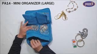 PA14 Mini Organizer (Large) | Yazzii Travel Bags