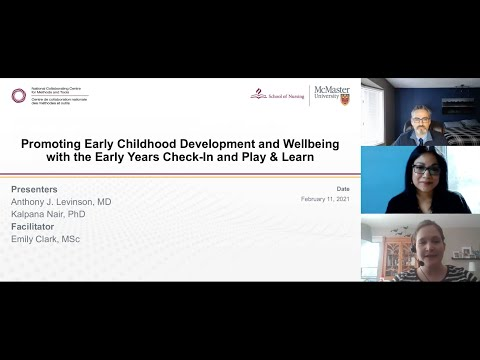 Promoting Early Childhood Development and Wellbeing with the ...