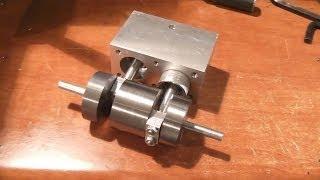 Optimum D180 x 300 Steam Engine Part-5   Pistons  
