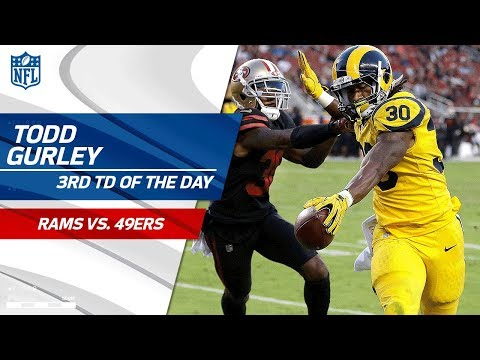 Goff Leads Big TD Drive & Gurley Scores 3rd TD of the Game! | Rams vs. 49ers | NFL Wk 3 Highlights