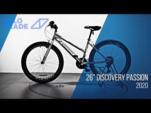 "Велосипед 26"" Discovery PASSION 2020: video"