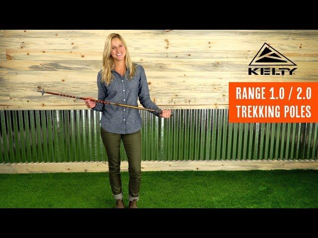 Видео Трекинговые палки Kelty Range 2.0