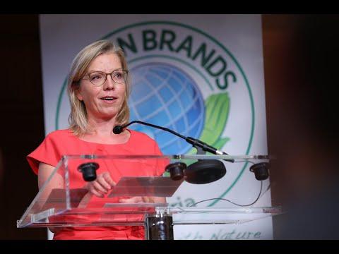 Klimaschutzministerin Leonore Gewessler – Verleihung des Österr. Umweltjournalismus-Preises am 15.9.2021 in Wien