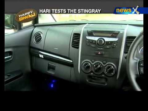 Living cars: Stingray vs old wagonR