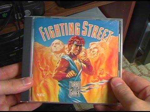 TurboGrafx CD - Fighting Street - AVGN episode segment