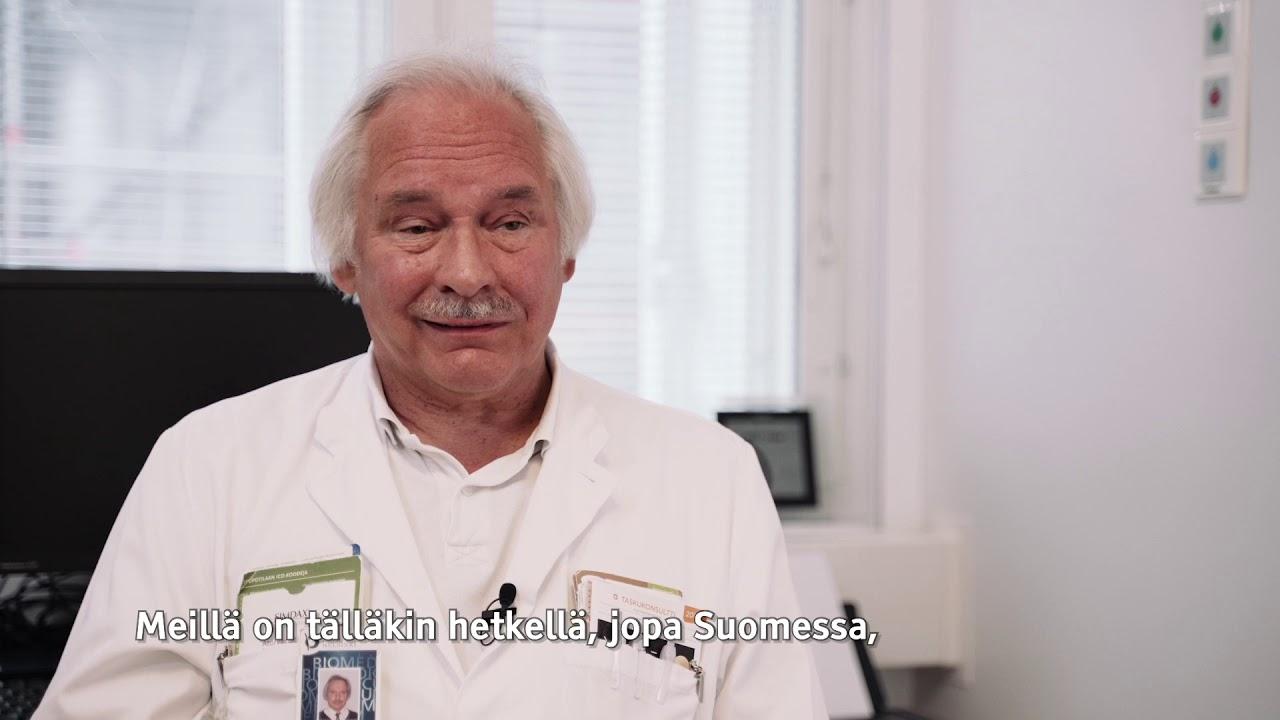 Hannu Laaksovirta: Genetiikka on ALS-tutkimuksen keskiössä