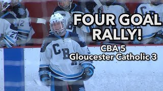 CBA 5 Gloucester Catholic 3 | Kyle Contessa 2 goals