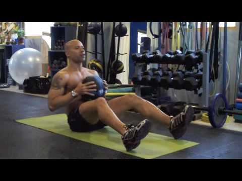 Video Medicine Ball Core Workout