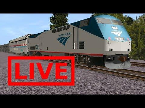 Trainz Simulator 12 Live Stream - игровое видео смотреть