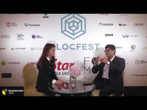 Blocfest Speaker Highlights: MALIKKHAN KOTADIA ; Co-founder & CEO of Finnovation Labs