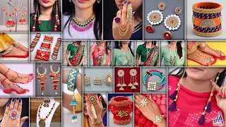 26 Fashion Jewelry Ideas! DIY All Designer Jewelry Making At Home For Croptops, Saree & GownDresses