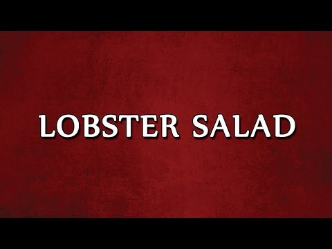 LOBSTER SALAD  1 | SALAD RECIPES | EASY TO LEARN