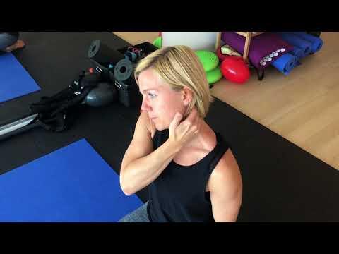 Behandlung von Schmerzen im Kiefergelenk Temporo