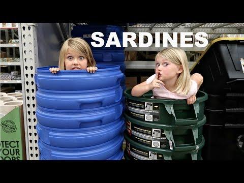 SARDINES AT LOWES!! | HIDE AND SEEK!