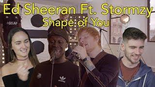 Ed Sheeran 'Shape Of You Remix' Ft. Stormzy | Head Spread | Reaction