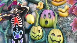 """スプーキー""""Boo!""""パレード:グーフィー、プルート真横"""