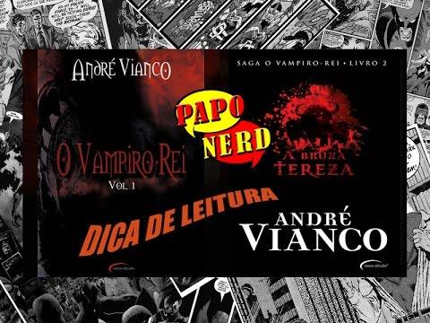 Dica de Leitura: SAGA O VAMPIRO REI - LIVRO DOIS - BRUXA TEREZA | #PN.43
