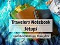 Sunday Setups - B6 & A5 Travelers Notebook & Stalogy 365 Update