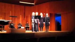USU Womens Choir-Barbershop Quartet
