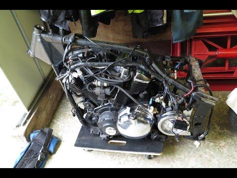 Yamaha roadstar/wildstar bobber, complete build - смотреть