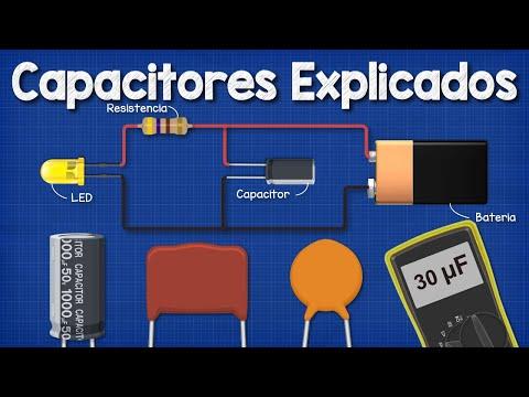 Capacitores Explicados - Los fundamentos funcionan los condensadores. Principio de funcionamiento