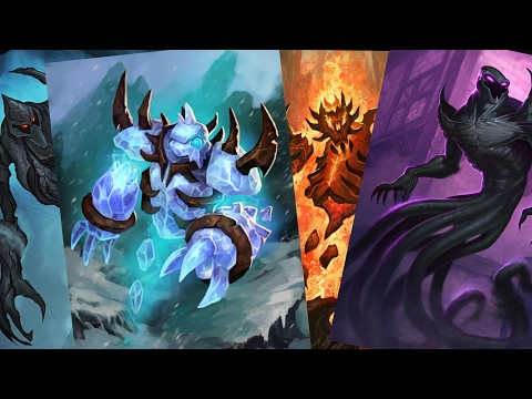 The Story of the Ragers (Magma,ice, Am'Gam & Shadow)