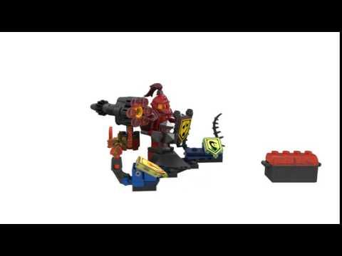 Конструктор Мэйси – Абсолютная сила - LEGO NEXO KNIGHTS - фото № 6